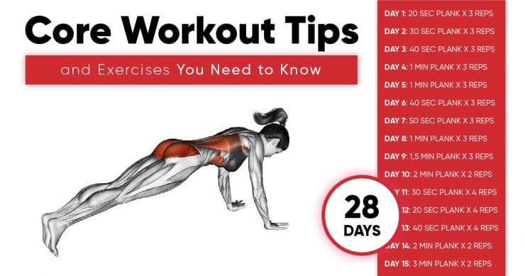 Core Workout Tips