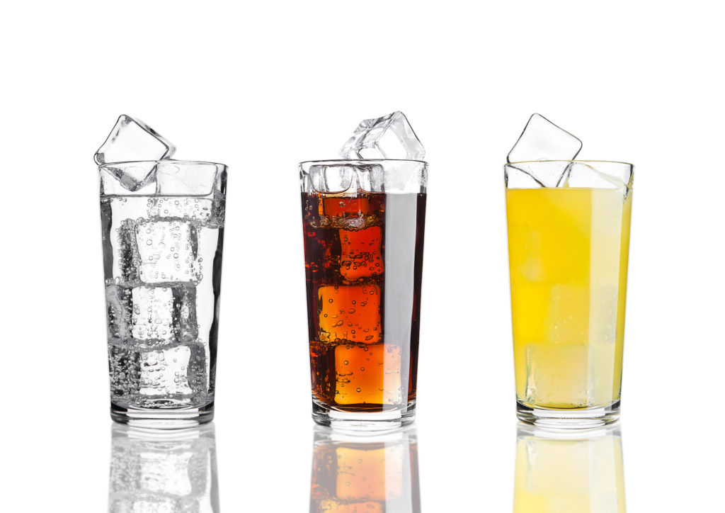 Examples of drinks on the clear liquid diet