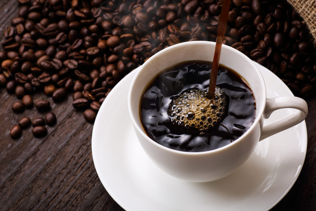 Coffee is allowed to drink on the clear liquid diet.