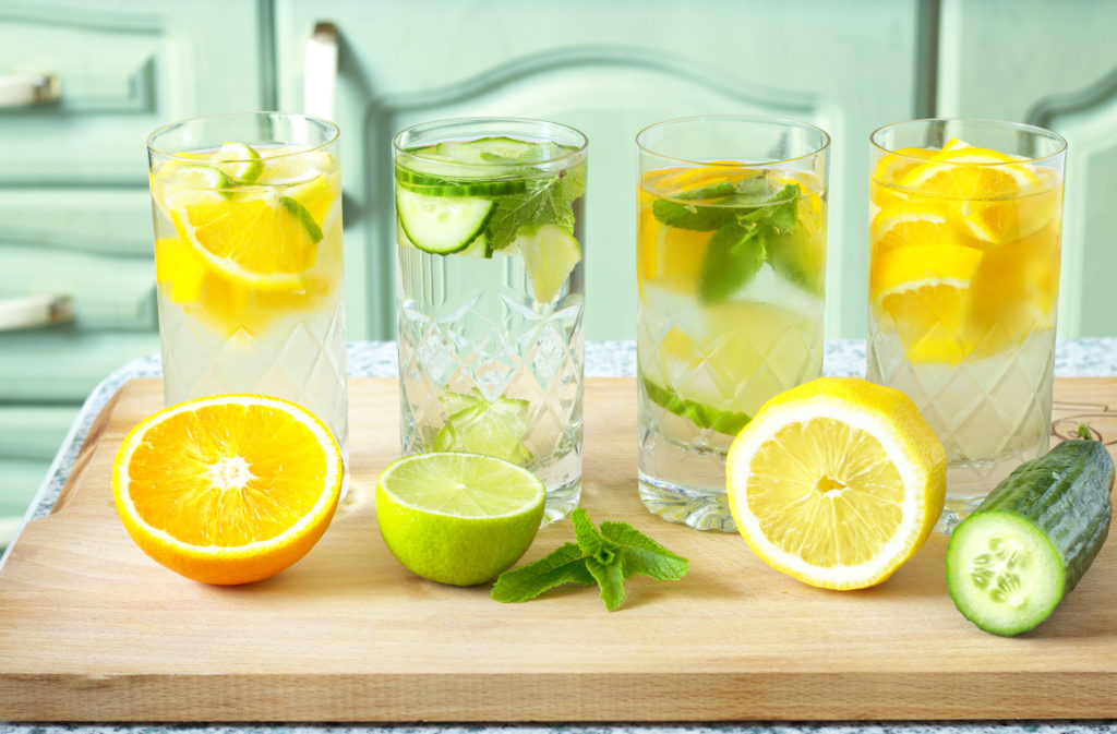 Citrus Diet, lemon water