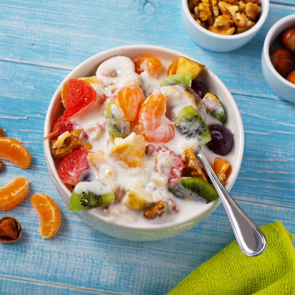 Fruit salad for citrus Diet