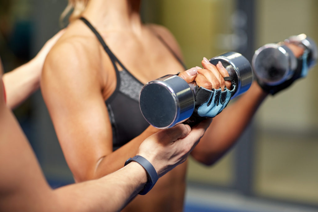 Bicep curl for no flabby arms