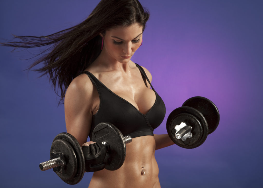 A workout for the chest lift challenge