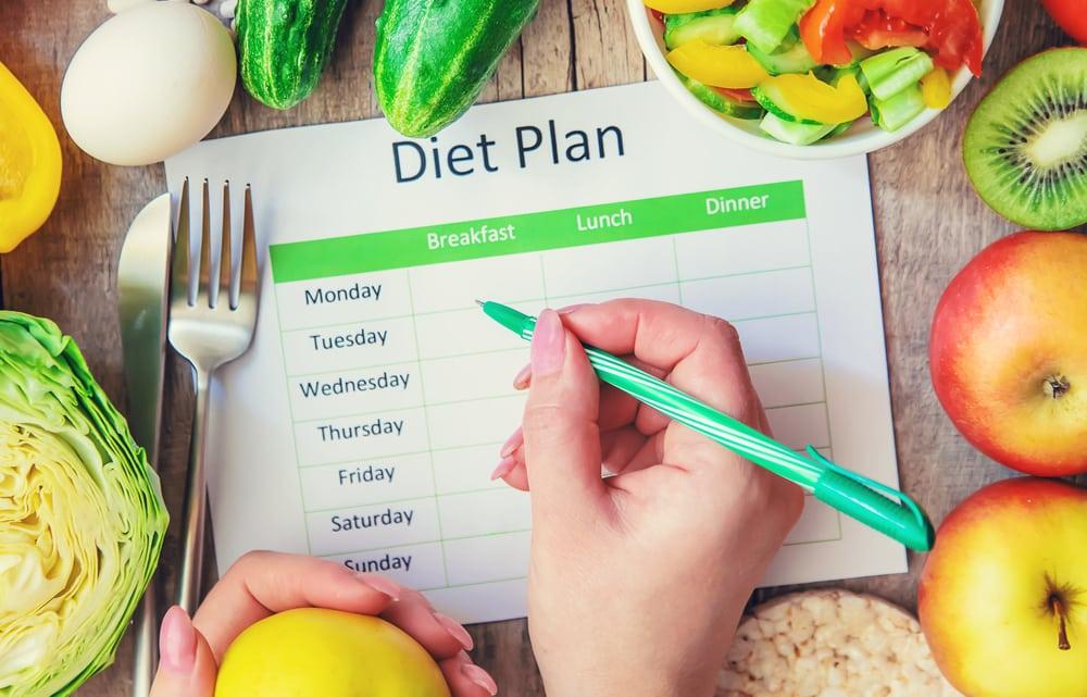 Buat rencana untuk menurunkan berat badan