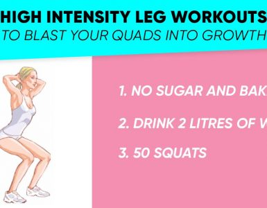 High intensity leg workou