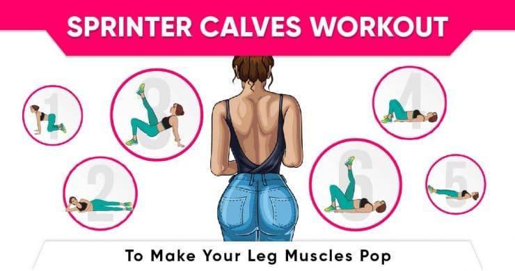 Sprinter calves workout