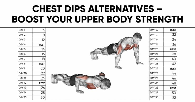 Chest Dips Alternatives