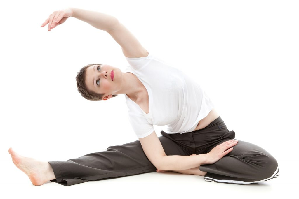 oblique muscle stretches
