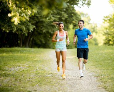 Hiking vs running