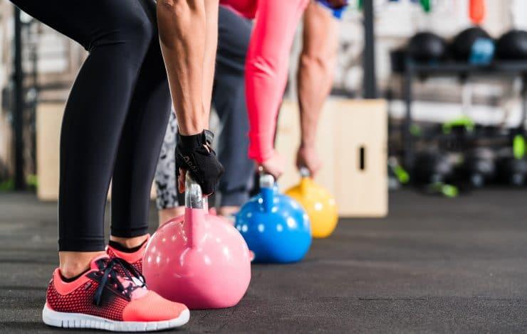kettlebell workout for back