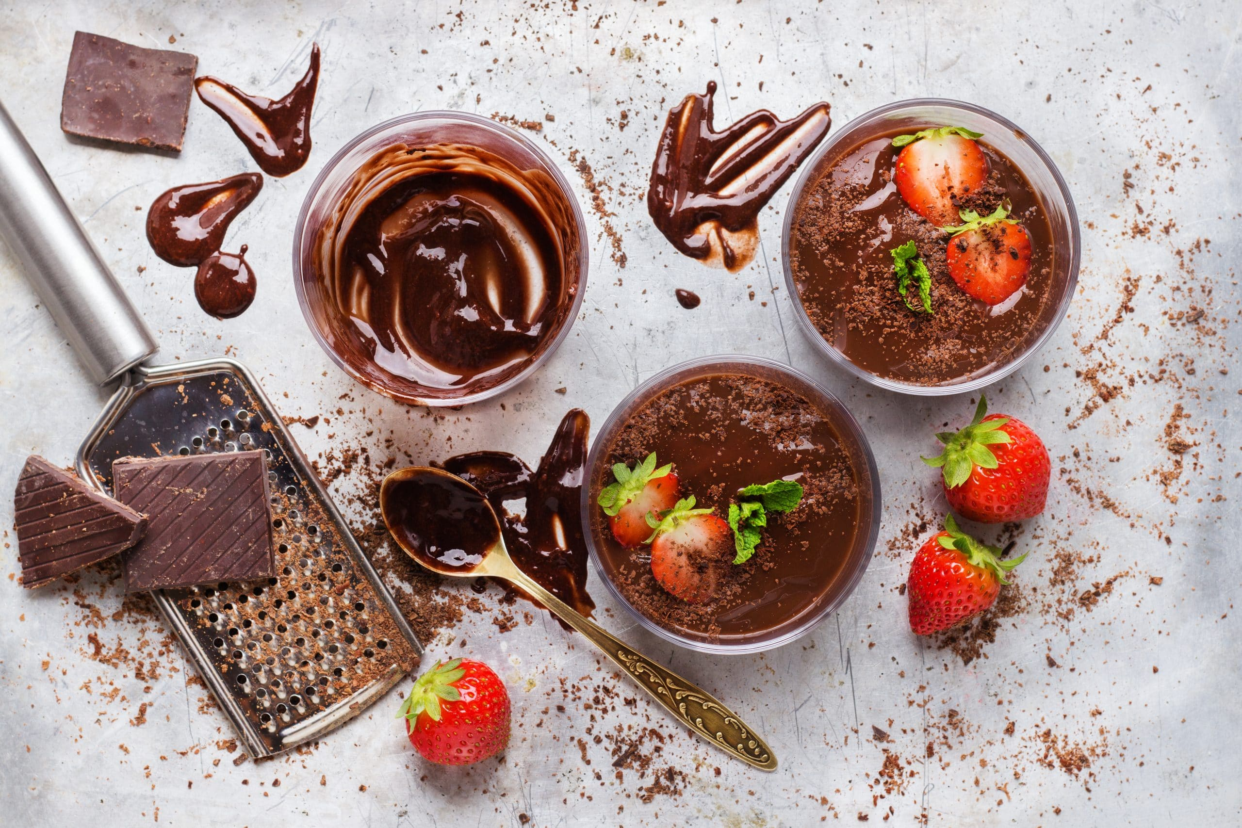 How to prepare chocolate mousse