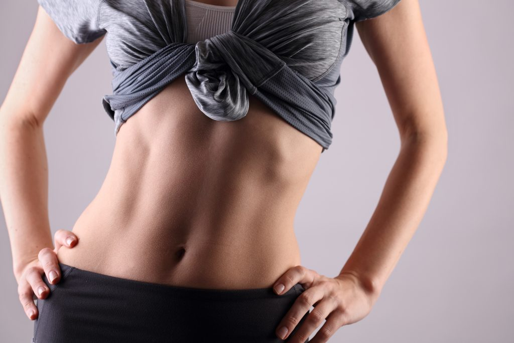 how to get a bigger waist without getting fat