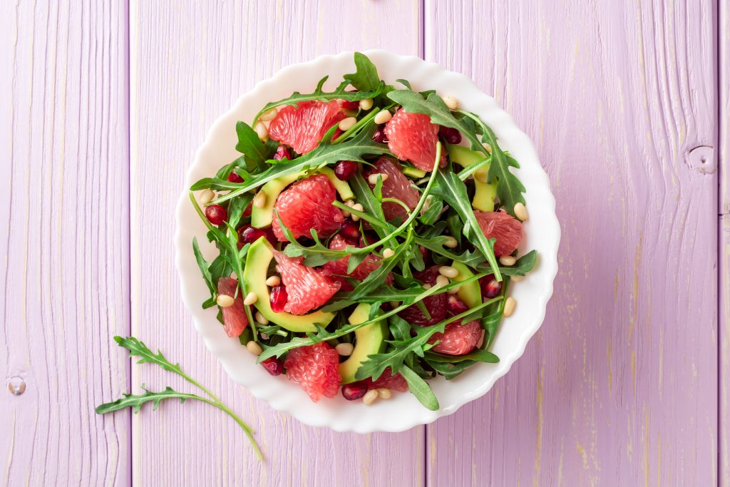 grapefruit salad