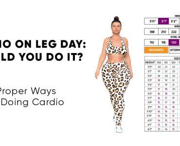 cardio on leg day
