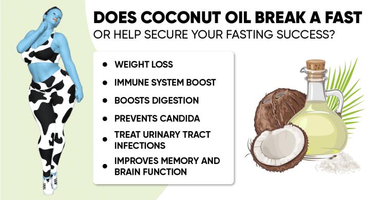 Does coconut oil break a fast?