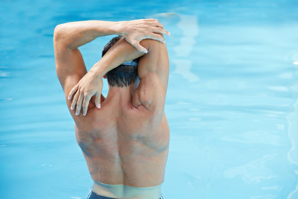 stretching routine for swimmers