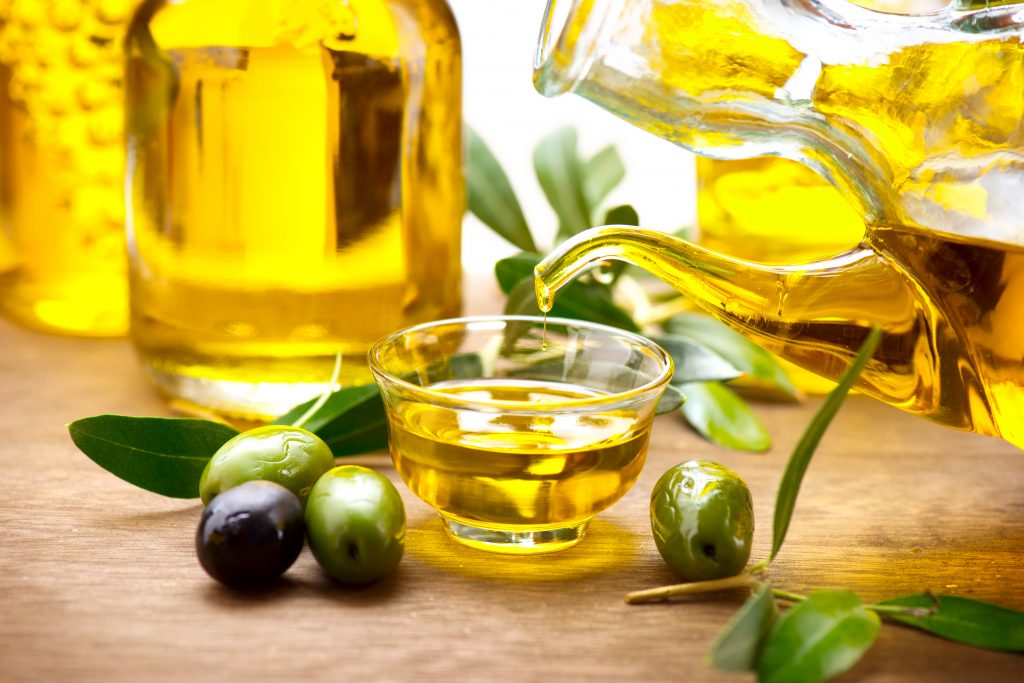 Olive oil is also on the food list