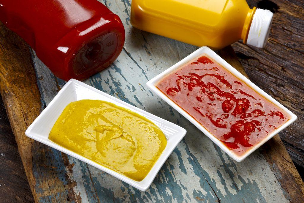 are ketchup and mustard vegan