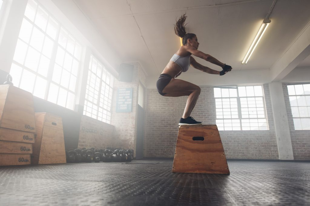 how many calories does a jump squat burn
