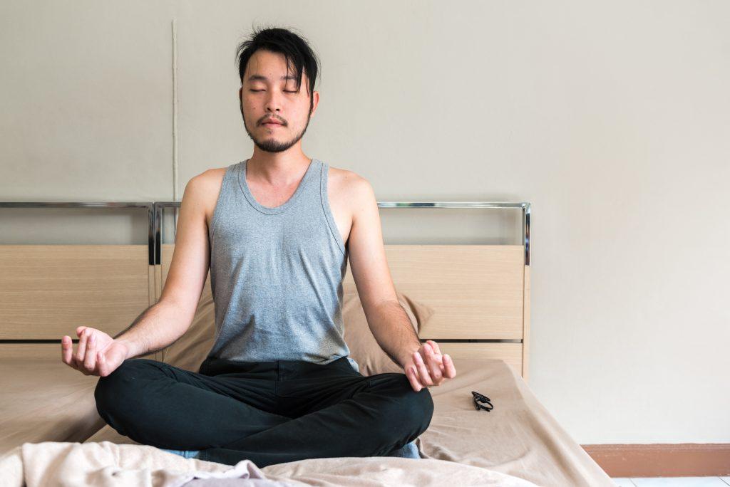 calming sleep meditation
