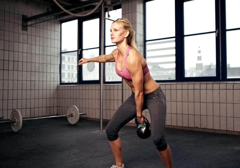 beginner kettlebell workout for weight loss