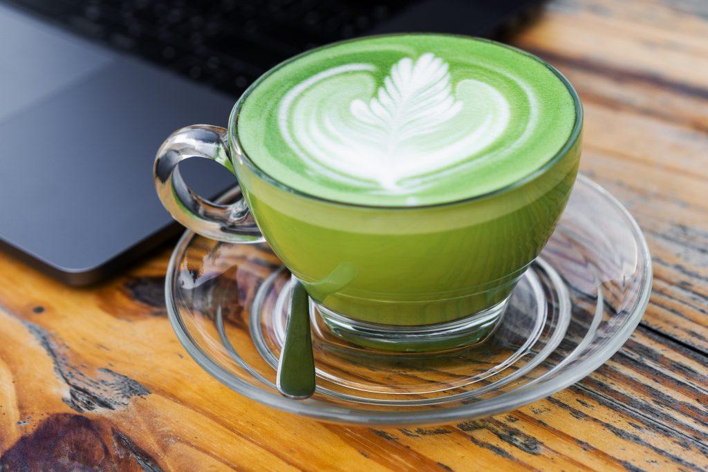 matcha tea caffeine