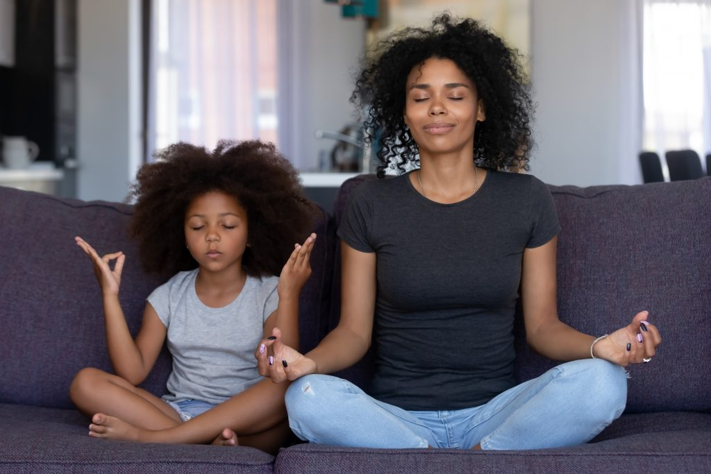 mindfulness with kids at home tips