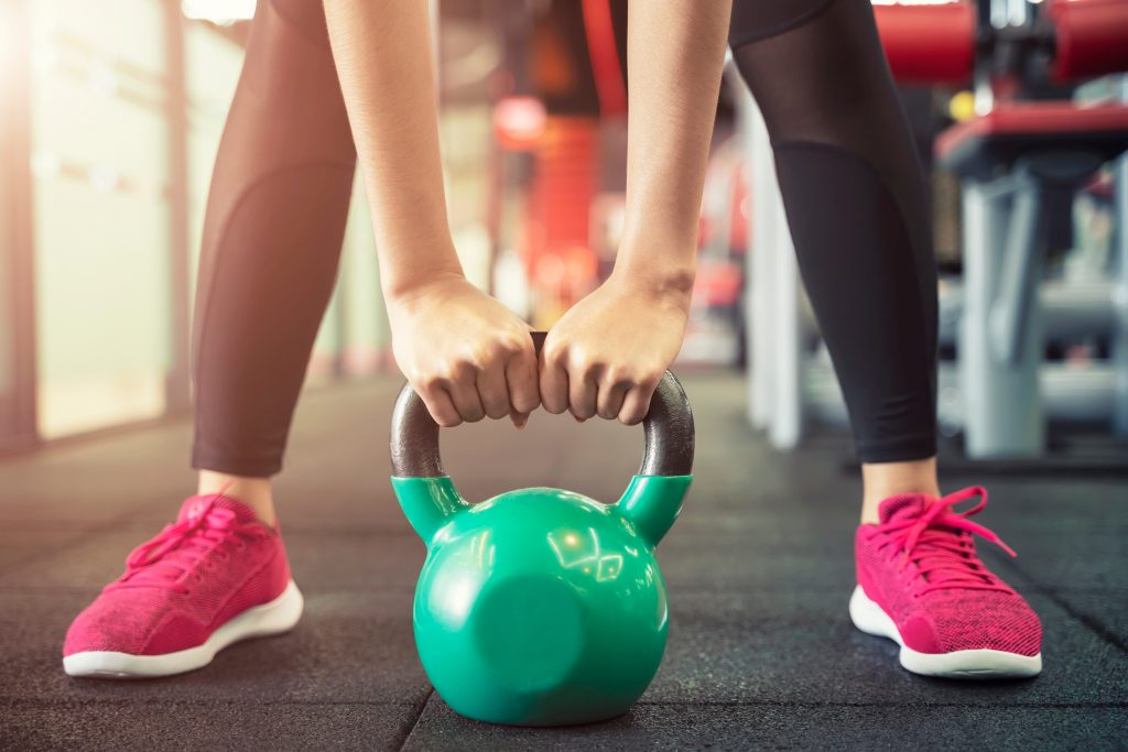 kettlebell workout for weight loss for women