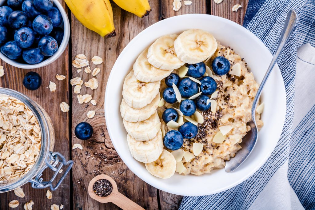 high protein and cereal diet