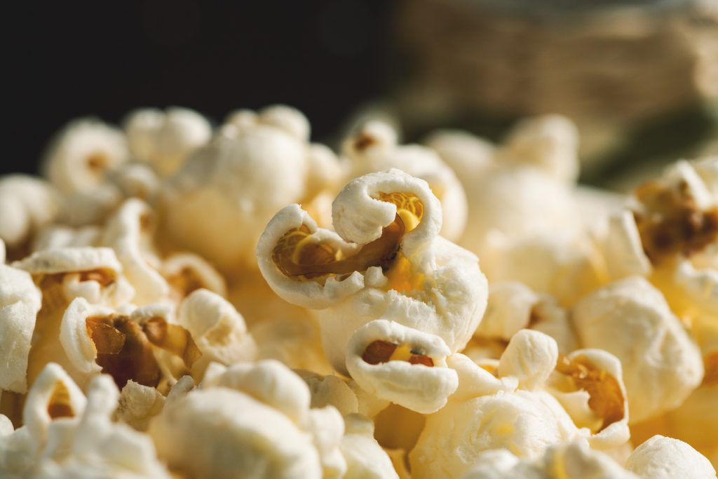 where does popcorn fit in the plant based diet