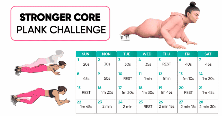 14 day plank challenge