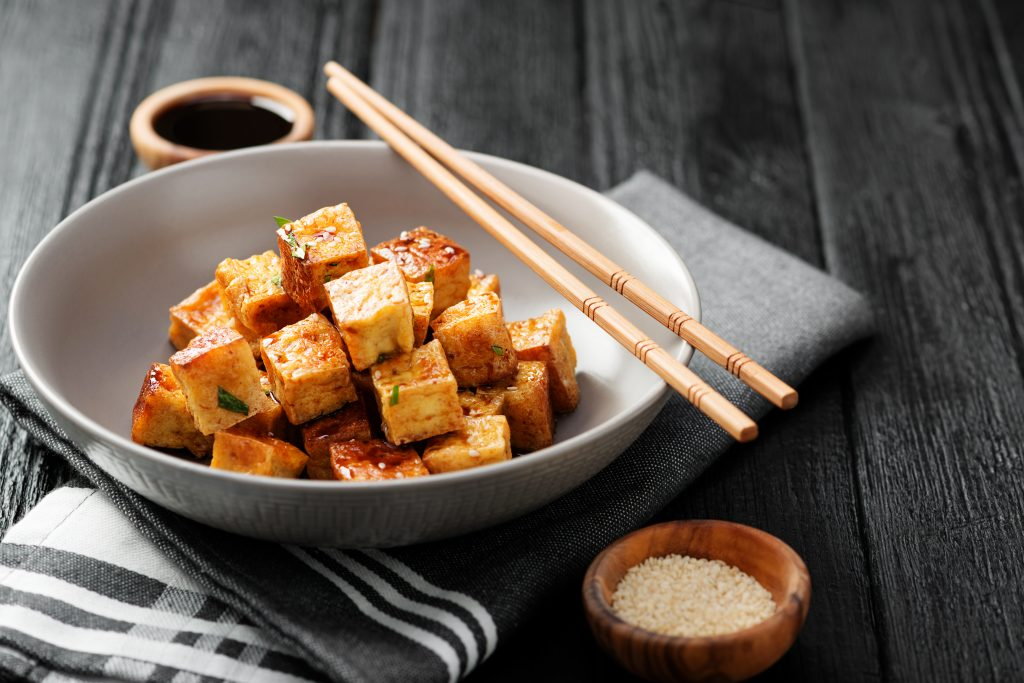 fried tofu on keto diet