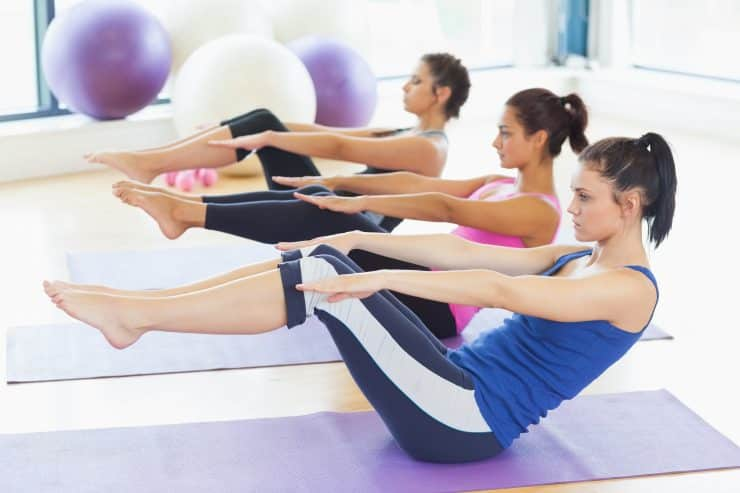 yoga or pilates to lose weight
