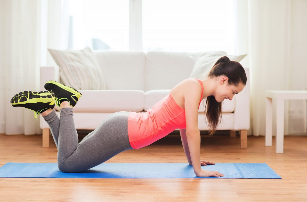how many calories does a modified push up burn