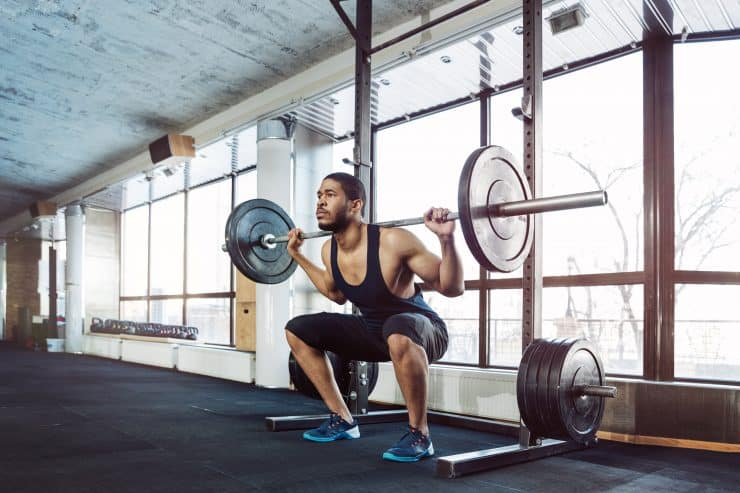 heavy weight low reps