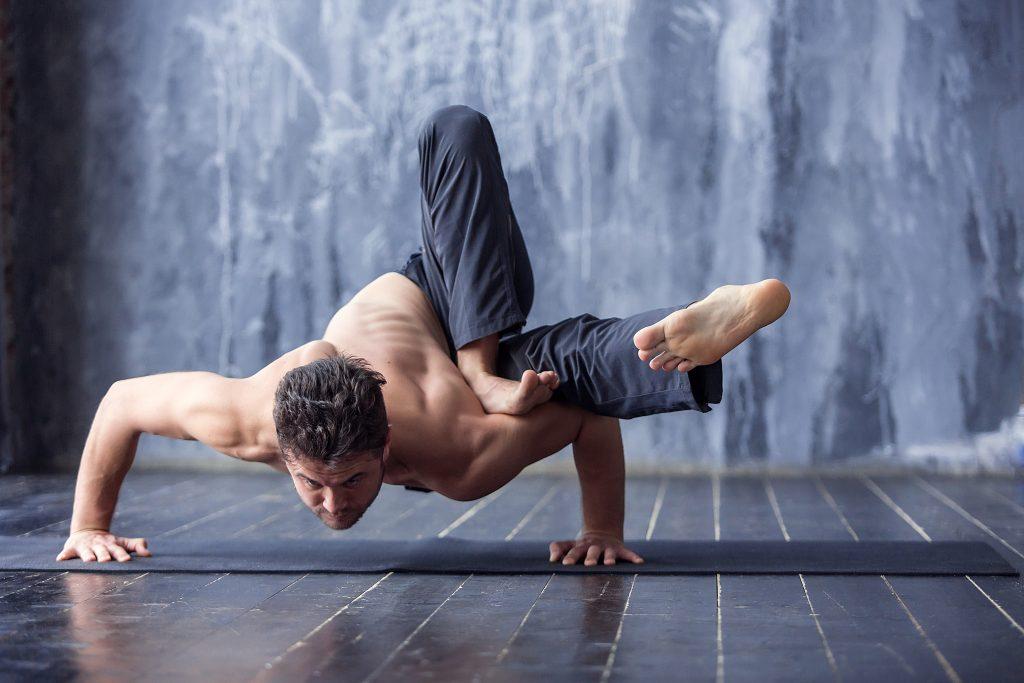 how many calories burned doing power yoga