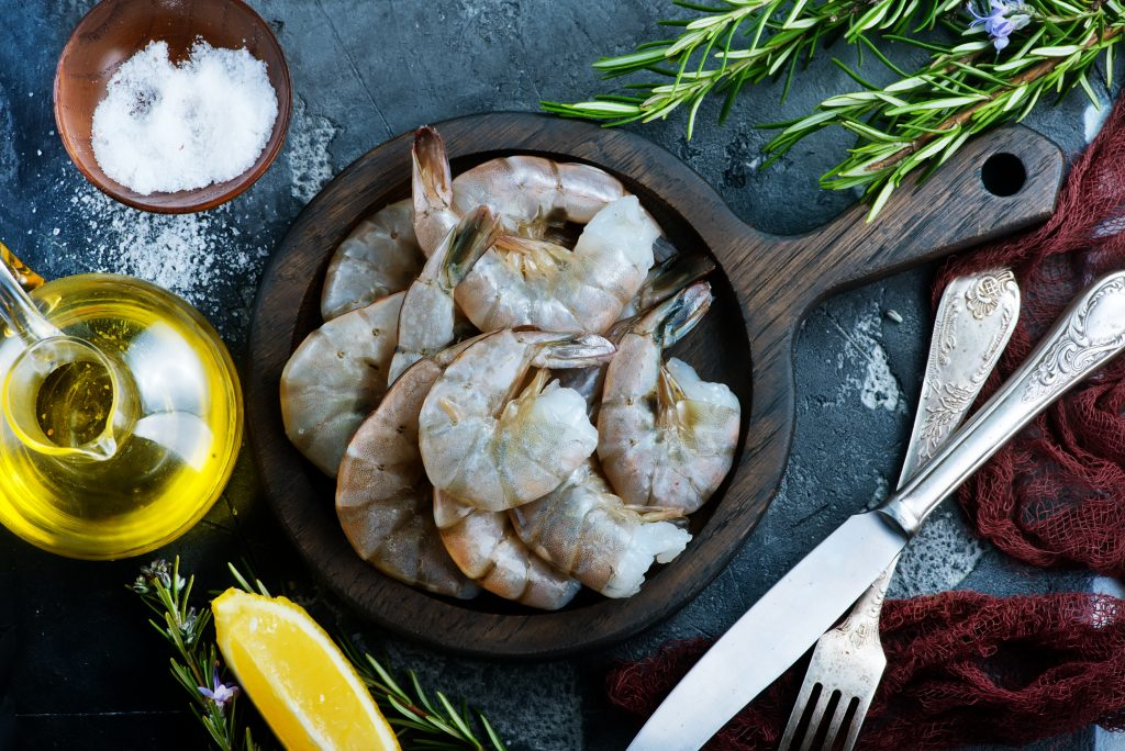 is shrimp healthier than chicken