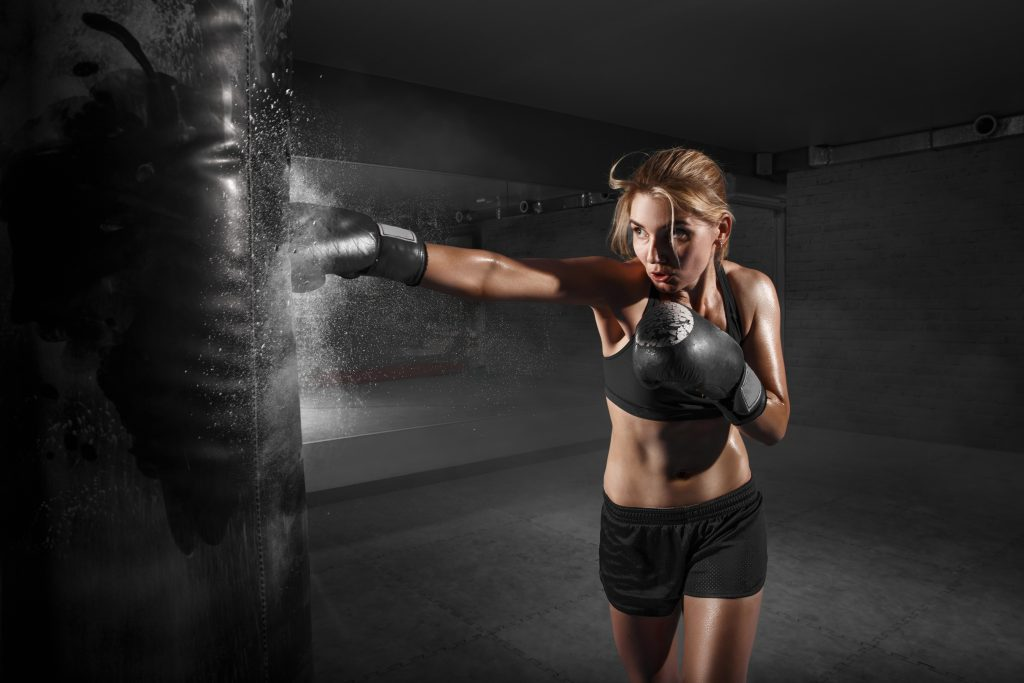 kickboxing for weight loss at home