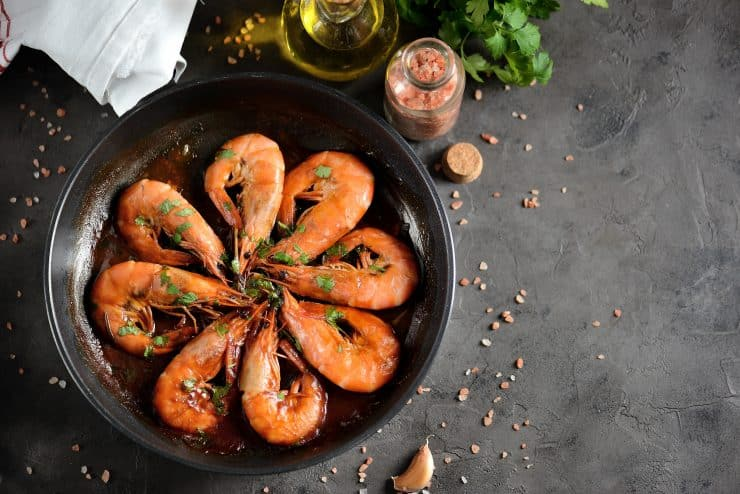 is shrimp good for weight loss