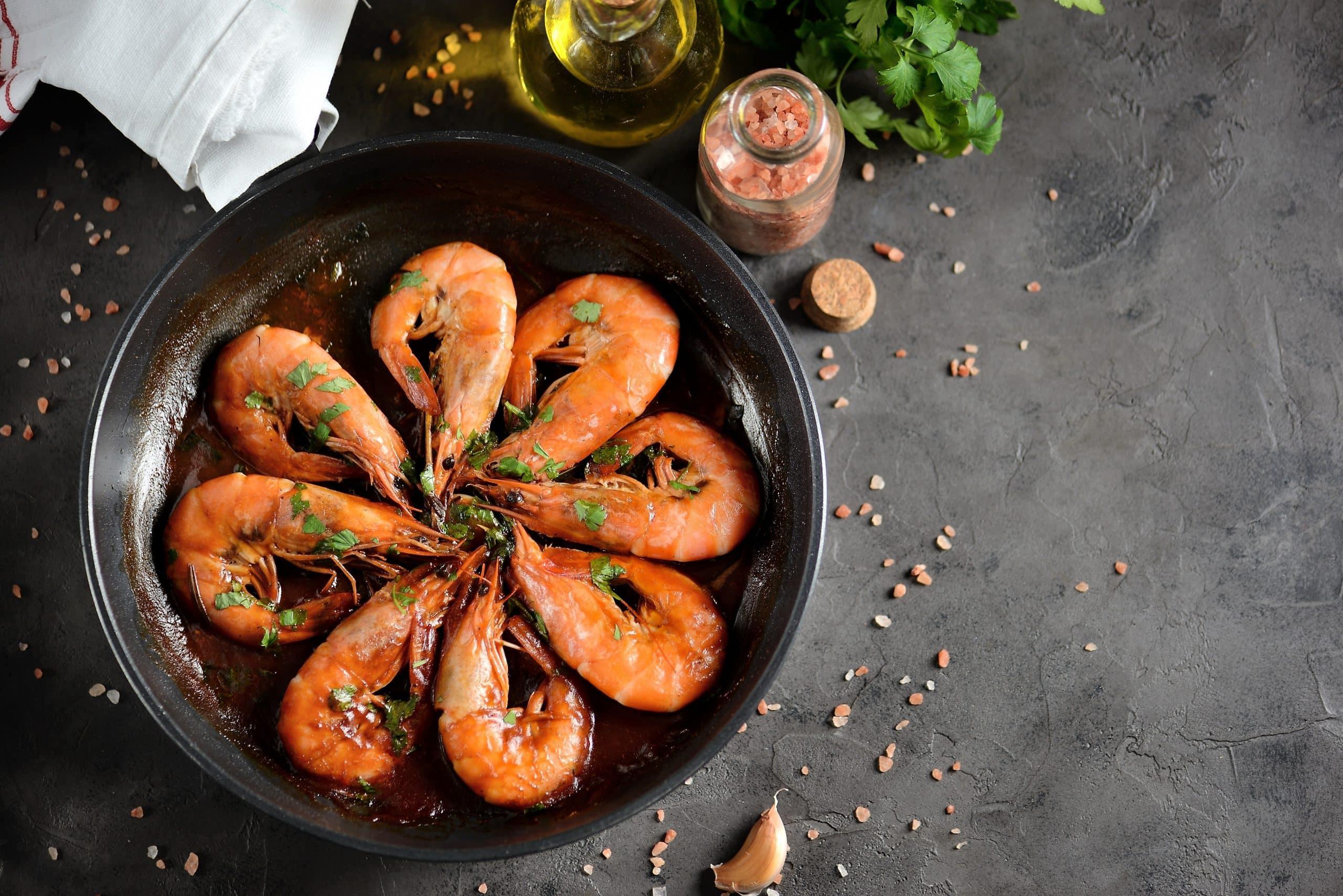 is shrimp bad for diet
