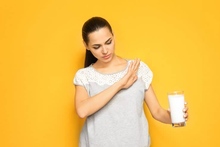 lactose intolerance weight loss