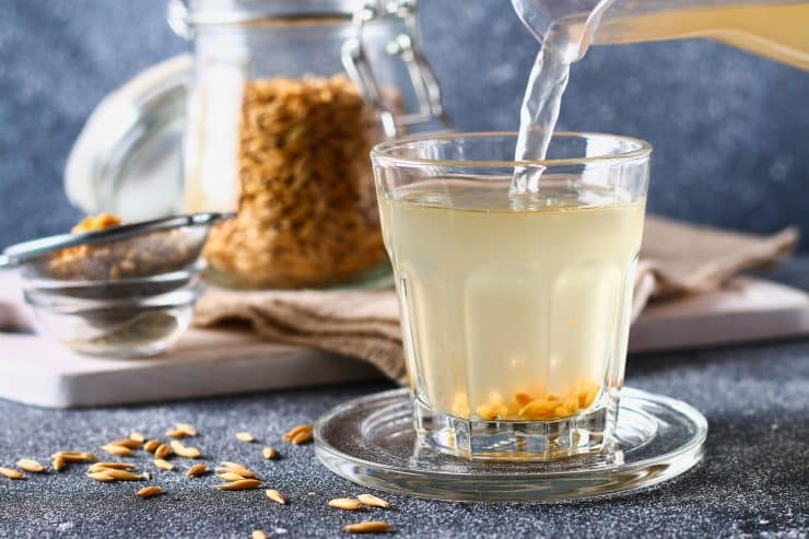 the benefits of oatmeal water