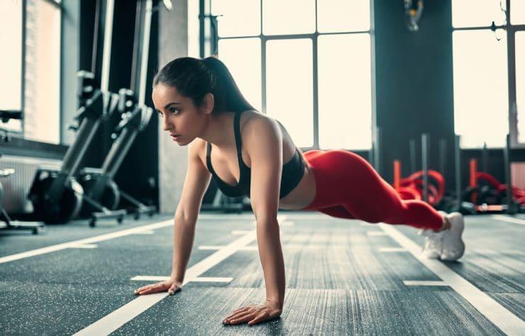 do push ups burn belly fat