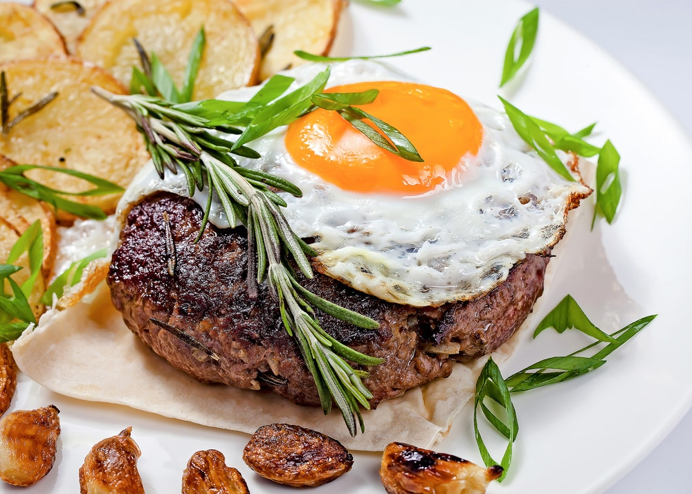 steak and eggs diet with carb loading