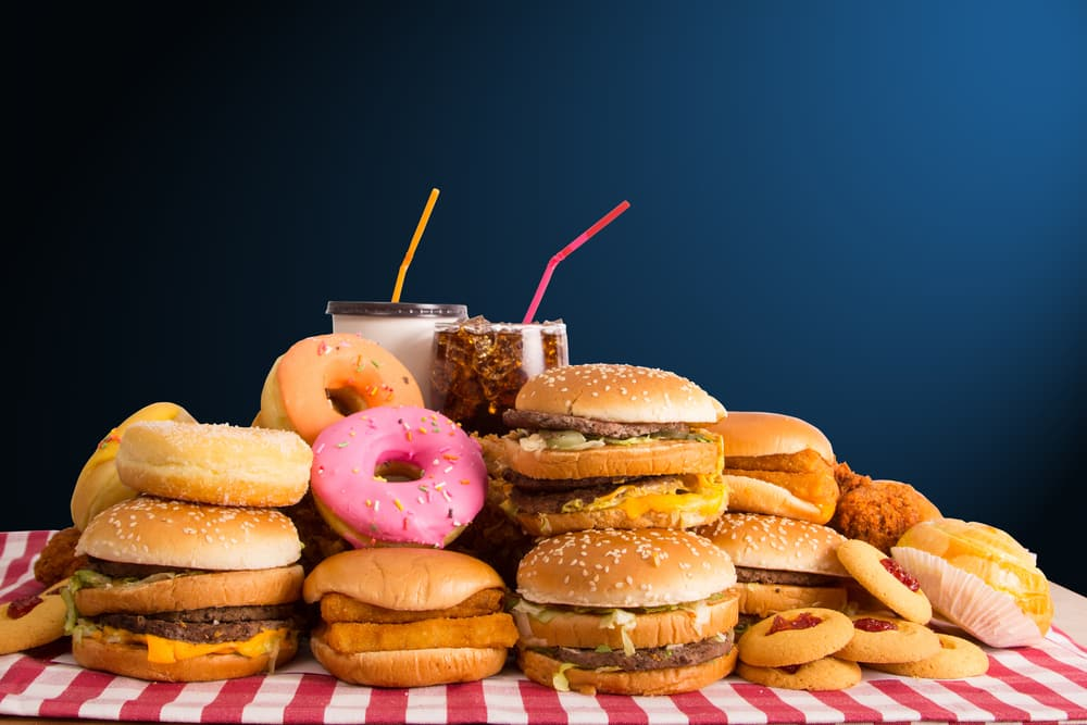 how to lose weight when you love junk food
