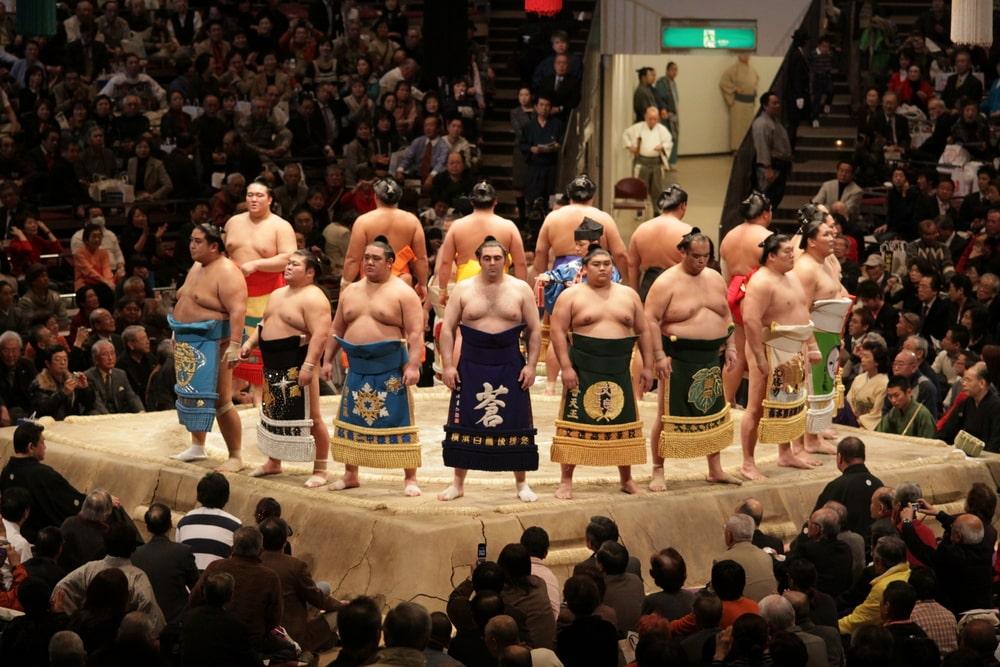 japanese sumo wrestler diet