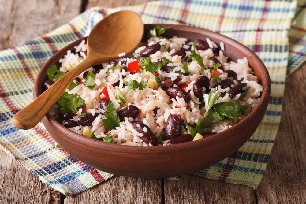 rice and bean diet