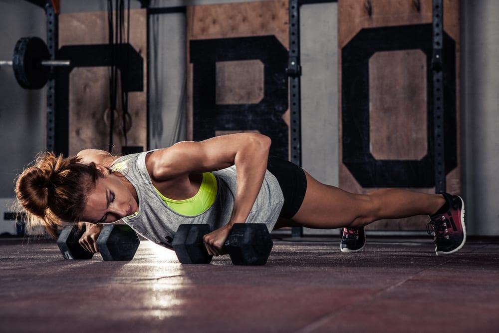 do push ups burn chest fat