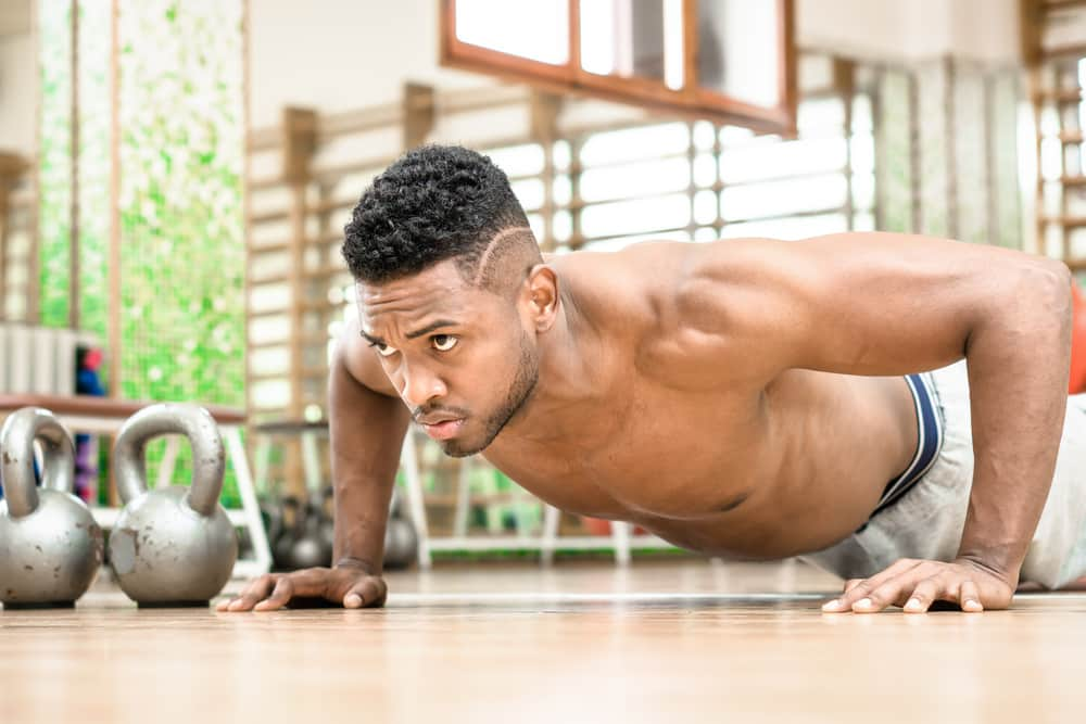 do push ups burn fat and build muscle