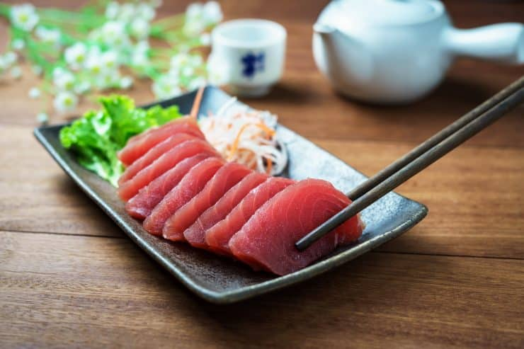 tuna and water diet